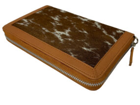 Colette Tan and White Cowhide Wallet