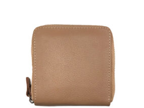 Simone Nude Square Leather Wallet