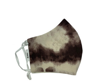 Small Fabric Face Mask - Brown