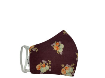 Small Fabric Face Mask - Floral Mix