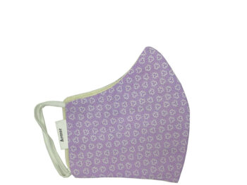 Small Fabric Face Mask - Lilac Floral